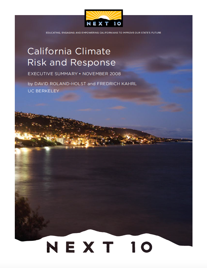 California Climate Risk & Response Cover