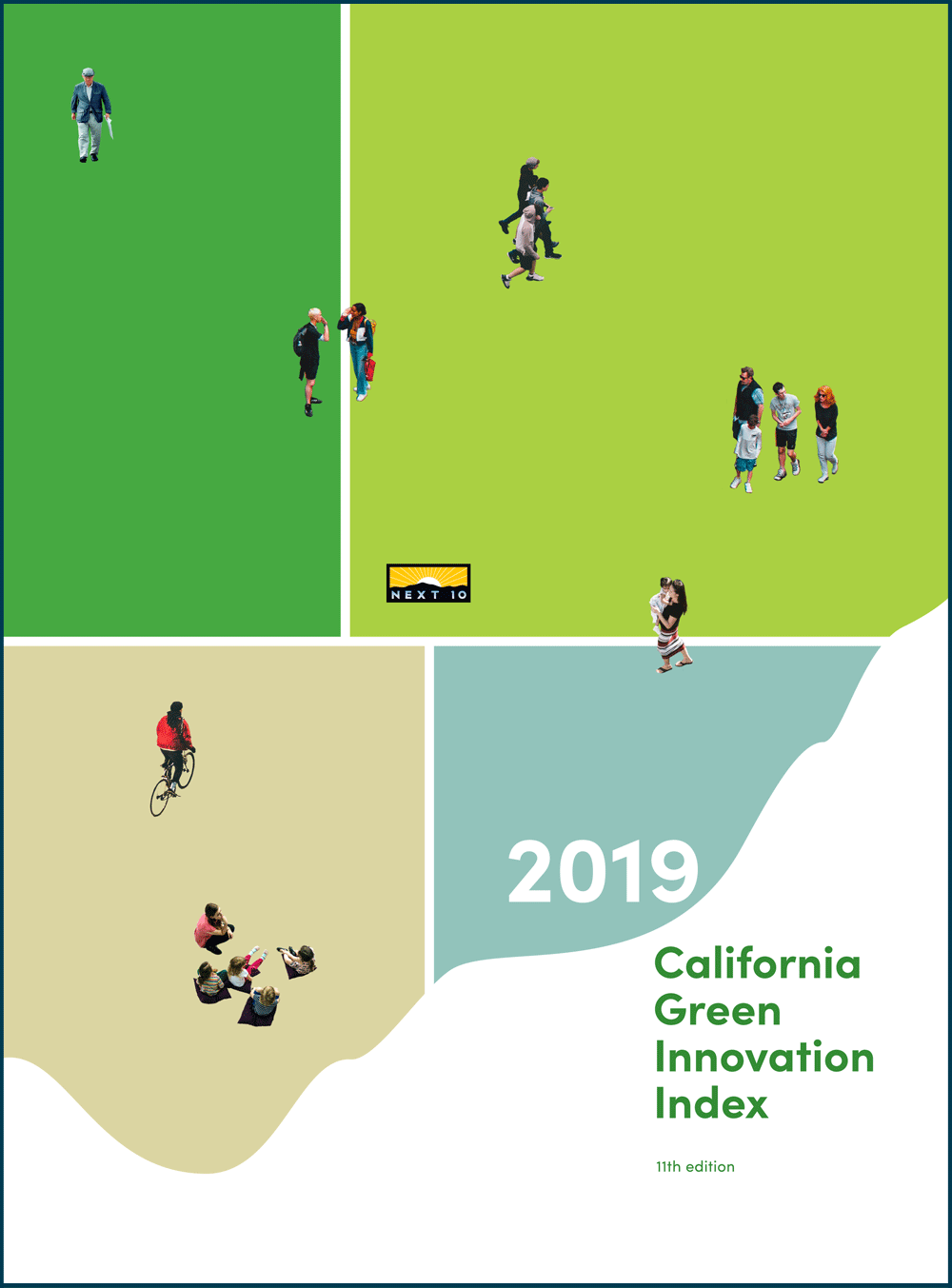 2019 California Green Innovation Index Cover